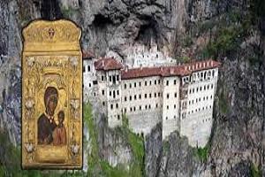 Πανηγ. Εσπερινός Παναγίας Σουμελά στο Ι. Προσκύνημα Βέρμιου Όρους 16/8/2013.