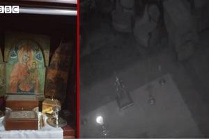 Βίντεο του BBC: Το ιερό του ελληνορθόδοξου ναού που γλίτωσε «σχεδόν άθικτο» από την έκρηξη στη Βηρυτό