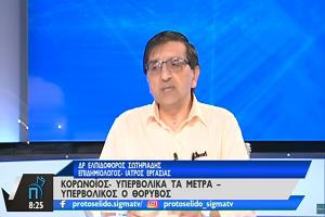 Δρ. Ελπιδοφόρος Σωτηριάδης: Στα Ίδια Επίπεδα ο Κίνδυνος Γρίπης και Κορωνοϊού