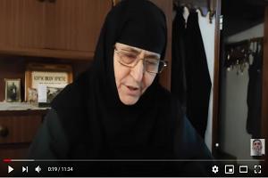 Η Γερόντισσα Χαριτίνη για θαυμαστό γεγονός με τον Άγιο Πορφύριο