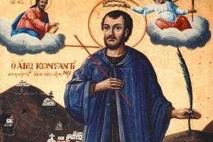 Αγ. Νεομάρτυς Κωνσταντίνος ο Υδραίος