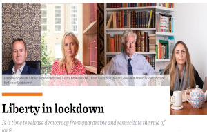H Ελευθερία κατά τον Γενικό Εγκλεισμό (Lockdown)