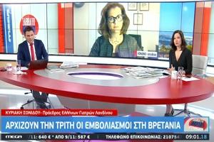 Πρόεδρος Ελλήνων Γιατρών Ηνωμένου Βασιλείου: Δεν θα κάνω το εμβόλιο γιατί δεν έχω επαρκείς πληροφορίες!