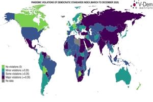 Διεθνής έρευνα: Σοβαρές παραβιάσεις των δημοκρατικών ελευθεριών στην Ελλάδα κατά την διάρκεια του κορωνοϊού!