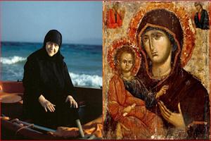 Γερόντισσα Μακρίνα: Νὰ ἀγαπᾶμε τὴν Παναγία – Εἶναι τεράστια εὐλογία γιὰ τὴν ψυχή μας