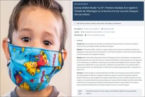 Επιστημονική έρευνα στη Γερμανία: Η μάσκα βλάπτει τα παιδιά