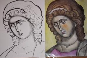 Σχέδια ζωγραφικής για μικρά παιδιά - 4.