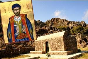 Αγ. Νεομάρτυς Μανουήλ απο τα Σφακιά της Κρήτης