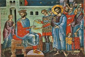 Εκδήλωση της ΕΡΩ Αγρινίου με θέμα «Ιησούν ή ... Βαραββάν; Το κριτήριο της Αλήθειας και το πραιτώριο της λογικής στην πορεία για την ...ΣυνΑνάσταση»