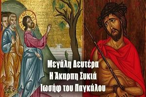 Συνοδοιπόροι του Θείου Πάθους  - Θεολογικό σχόλιο στο περιεχόμενο και τα νοήματα της Μεγάλης Δευτέρας