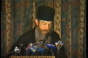 Συνέντευξη Τύπου στο Caravel κατά της ελεύσεως του Πάπα - 27/04/2001