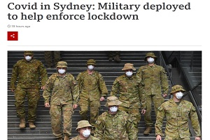 Αυστραλία: Ο στρατός θα συνδράμει στην επιτήρηση του εγκλεισμού! Η Δημοκρατία στα καλύτερά της!