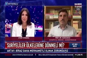 Σύμβουλος Ερντογάν: Όσοι πεινούν δεν φωνάζουν «πεινάω»