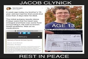 13χρονο πέθανε από καρδιακή ανακοπή μετά το εμβόλιο