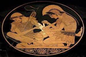 Βίος Μ.  Ἀλεξάνδρου - Ὁ Ἀχιλλέας πρότυπο τοῦ Ἀλέξανδρου στὴν ἐκστρατεία του στὴν Ἀσία