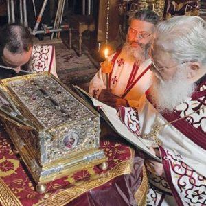 Kατάθεσις της Τιμίας Ζώνης της Θεοτόκου: Στιχηρά Προσόμοια Αίνων εορτής, Ήχος A΄ - Καταβασία Θ΄ Ωδής εορτής, Ήχος Δ΄