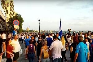 Η ομιλία του Καθηγητή Κλινικής Φαρμακολογίας Δημητρίου Κούβελα στο συλλαλητήριο της Θεσσαλονίκης κατά της υποχρεωτικότητας του εμβολίου