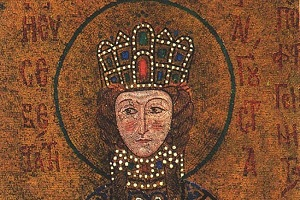 Αγία Ειρήνη η βασιλίσσα, της διά του αγίου και αγγελικού σχήματος μετονομασθείσης Ξένης Mοναχής
