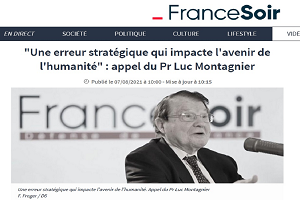 Luc Montagnier (νόμπελ Ιατρικής): «Στρατηγικό λάθος που επηρεάζει το μέλλον της ανθρωπότητας. Ηγέτες επί τη βάση πειραματικών δεδομένων επέτρεψαν μαζικό εμβολιασμό»