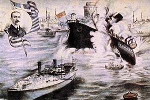 Ο τορπιλισμός του «Φετίχ Μπουλέντ» 18 Οκτ 1912